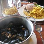 mussels were delicious