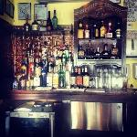 The Sweet Magnolia Cafe now has a bar!