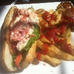 The lobster BLT is enormous for $15.99!!