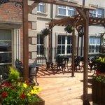 fantastic outdoor terrace