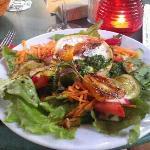 Salat mit Ziegenk?se