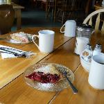 Rhubarb pie and Bumbleberry Pie!