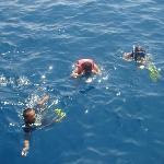 en pleno mar