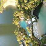 Blick auf den Pool vom Balkon aus_1