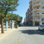 main street outside hotel