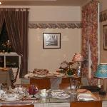 Partial view on dinning room