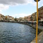 "The beautiful ""Old Port of Chania"" 10 minutes from the Santa Marina Plaza."