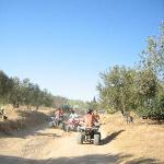quad bike ride