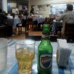 Old style ambient, you can taste beers from Panama and Greece (!)