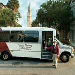 Tour Charleston in our comfortable air-conditioned bus