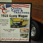 1928 Gypsy Wagon info.