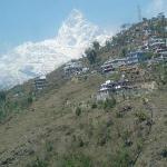 paragliding view of srangkot