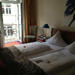 room looking towards balcony