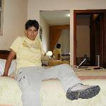 mi habitacion comoda y con red wi fi