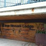 Entry to Iron Blosam Lodge