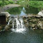 The main waterfall - so peaceful