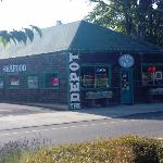 Depot Cafe - Our favorite for seafood!