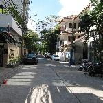 Sukhumvit Soi 8 leading to hotel