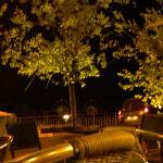 Terrasse en nocturne
