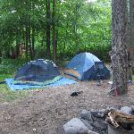 Our tents