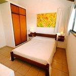 dormitorio de cabaña grande