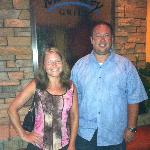 My cousin and I. Monterey Grill. Port Orange, FL