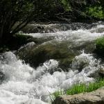 Waterfall at Spearfish Canyon.