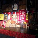 part of the stage area
