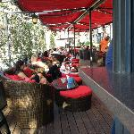 Outdoor bar, Lausanne Palace & Spa