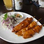 Wonderful chicken satay