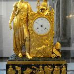 Empire Clock with Louis Napoleon