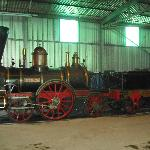 John Molson (wood burning locomotive that does demonstrations at times)