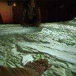 the interactive touch table