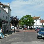 The view from the Coal Exchange to the centre of the village