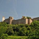 nearby castle