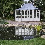 The summer room in the garden