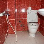 il bagno della stanza 401