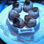 tasty snails.