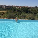 pool overlooking sienna
