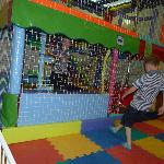 indoor soft play area