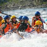 """They put the photographer at the """"whitewater"""""""