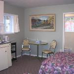 One of the cabin suites