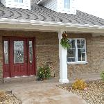 The B&B is accessible- a concrete ramp leads to the front door