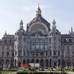 Estação Central da Antuérpia - visão externa