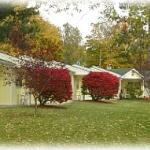 Autumn view of Motel