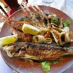 Seafood Mixed Platter (Grilled)