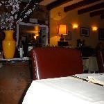 Sala del ristorante Al Covo