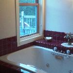 Private jetted tub