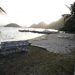 nice sandy pristine beach