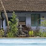 Ganesh guards the pool